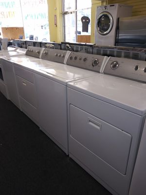 👍🔥🔥 great whirlpool electric top load set washer and dryer in exellent condition for Sale in Laurel, MD