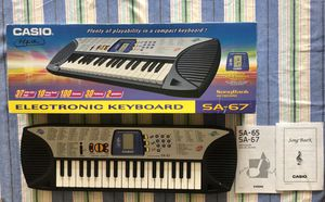 Casio SA-67 Electronic Keyboard for Sale in Irvine, CA