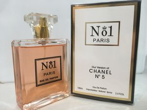 N o 1 PARIS VERSION OF No 5 PERFUME FOR WOMEN 3.4 OZ NEW IN BOX for Sale in Arlington, TX