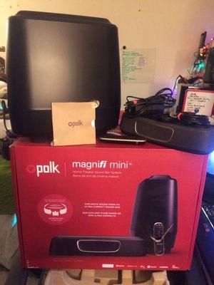 Polk MagniFi mini soundbar system for Sale in Gallatin, TN