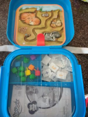 Kids Educational Teaching Math game in carrying case for Sale in Woburn, MA