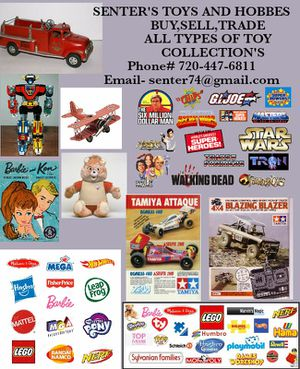 Buy sell and trade. All types of toys and collections for Sale in Denver, CO