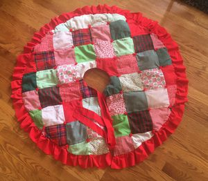 Patchwork Tree Skirt for Sale in Aurora, IL