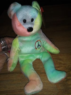 Peace Beanie Baby with Tag and Plastic Tag Protector for Sale in Chandler, AZ