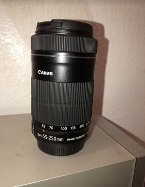 Canon EF 55-250mm for Sale in Montclair, CA