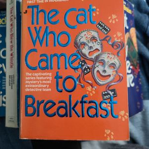 The Cat Who Came To Breakfast, Lillian Jackson Braun, Paperback for Sale in Auburn, WA