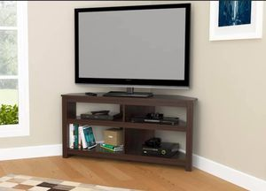 "New Corner TV Stand Holds Up To 60"", Espresso for Sale in Columbia, SC"