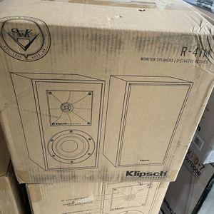 Klipsch R-41 Bookshelf Speakers for Sale in Campbell, CA