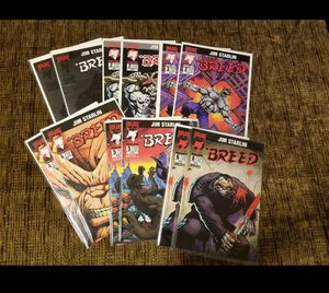Breed comic book lot for Sale in Salem, OR