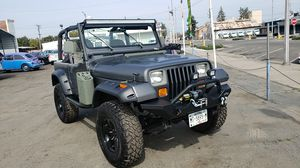 Jeep Wrangler 1997 4x4 for Sale in Dinuba, CA
