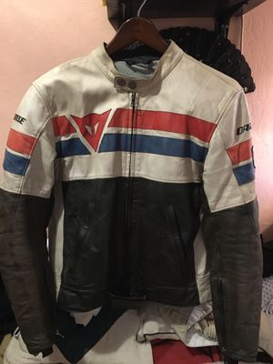 Motorcycle Dianese 1972 Leather Jacket w/pads included for Sale in Daly City, CA