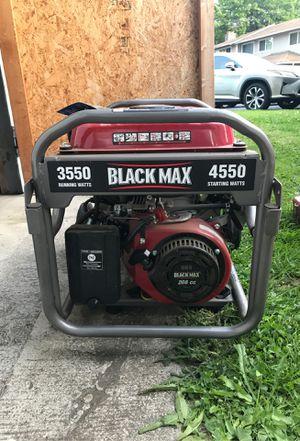 Black Max generator for Sale in Seattle, WA