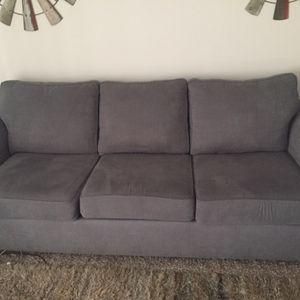 Blue Bluish Grey Sofa Couch for Sale in Nashville, TN