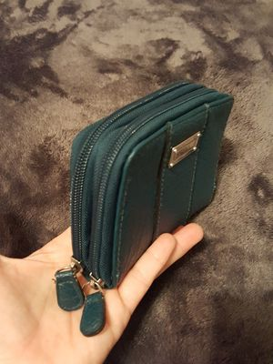green purse double bag with zipper for Sale in Indio, CA