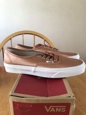 Brand new vans authentic satin lux Skate skateboard shoes (men's 6.5, youth 6.5y, women's 8) for Sale in La Mesa, CA