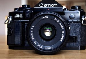 Cannon A1 With Working Light-meter for Sale in Tempe, AZ