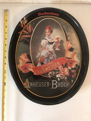 """anheuser busch advertising tin 1987 15"""" for Sale in West Palm Beach, FL"""