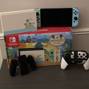 Nintendo Switch Animal Crossing Edition for Sale in Sterling, VA