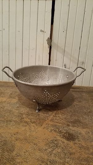 Vintage colander for Sale in Snohomish, WA