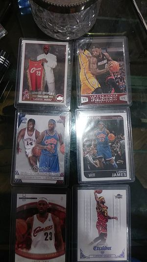 LeBron James sports cards $35 or best offer for Sale in Balfour, ND