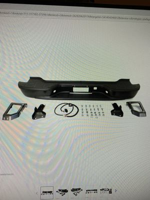 Gm rear bumper Yukon black for Sale in Phoenix, AZ