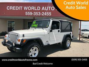 2005 Jeep Wrangler for Sale in Fresno, CA