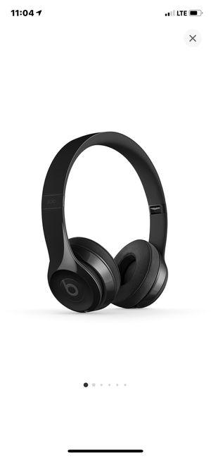 Beats Solo 3 Wireless Gloss Black for Sale in Rosemead, CA