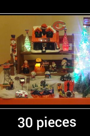 Christmas Chicago Bears 30 pieces for Sale in Naperville, IL