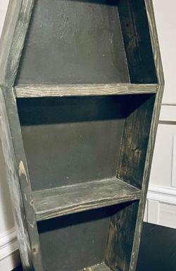 wood coffin shelf for Sale in Gaithersburg,  MD