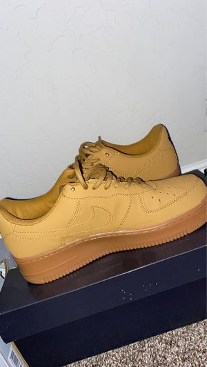 Size 8 All brown Air force 1's for Sale in Clovis, CA