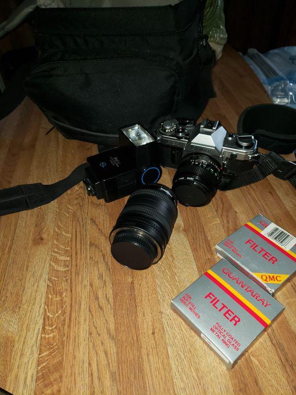 Canon 35mm film camer