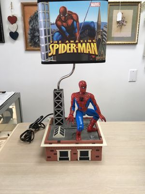2007 animated Spider-Man lamp for Sale in North Royalton, OH