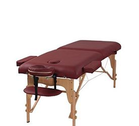 """Burgundy 3"""" Thick Portable Adjustable Table for Sale in Duluth,  GA"""