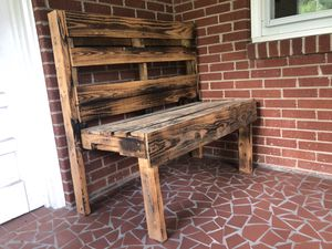 2- Seater Wooden Bench for Sale in Charlotte, NC