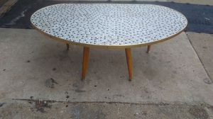 Mid-century table custom tile top excellent condition for Sale in Washington, DC