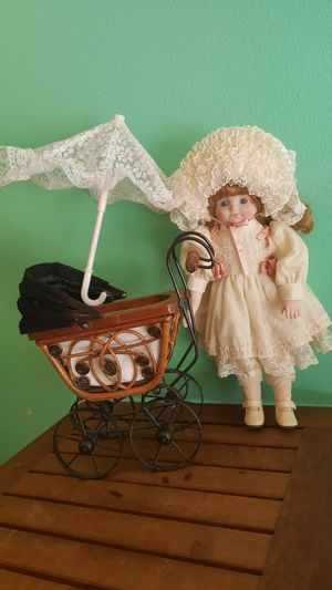 """11"""" Vintage Mini Doll Stroller, Buggy for Sale in San Diego, CA"""
