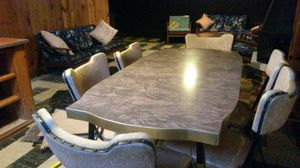 Beautiful mid-century dining set with 6 chairs for Sale in Silver Spring, MD