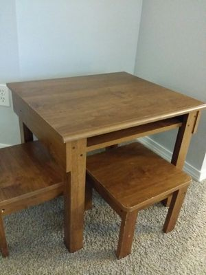 Kids Table with 2 Chairs for Sale in Bonney Lake, WA