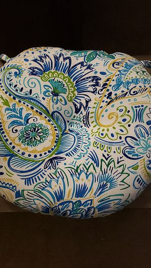 Baltic Pattern Outdoor Chair Cushions. SET OF 4 for Sale in Mesa, AZ