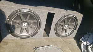 2 12' kicker subwoofers for Sale in Rison, AR