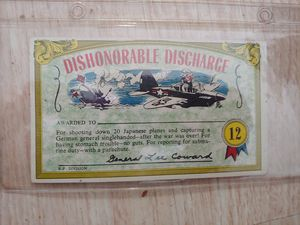 Vintage Nutty Award Postcard Dishonorable Discharge for Sale in Boca Raton, FL