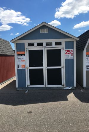 Tuff Shed former display model was $5008 now $3756 for Sale in Detroit, MI