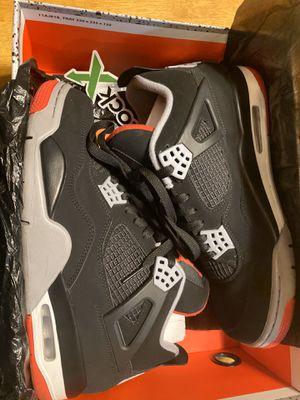 Jordan 4 bred size 10 og all for Sale in Huntington Park, CA
