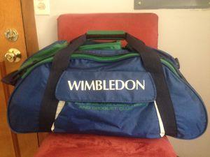 Vintage Wimbledon tennis/duffle bag for Sale in Seattle, WA