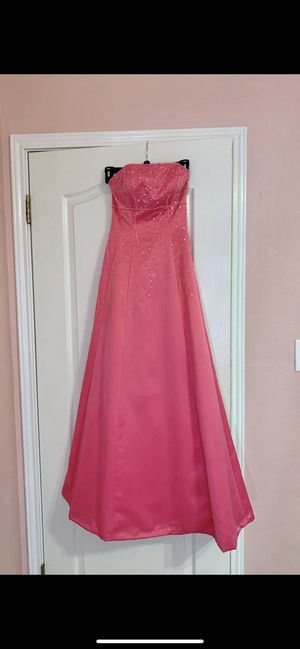 Small (size 3) pink prom dress with corset back for Sale in Schertz, TX