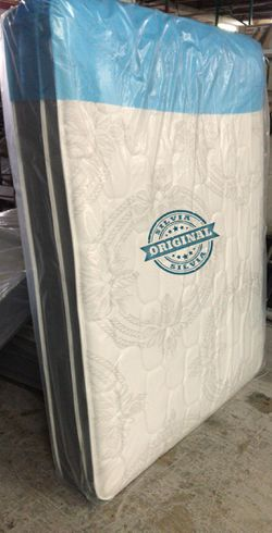 FULL MATTRESS BED PILLOW TOP BRAND NEW WITH BOX SPRING SET 🎖️🎖️ALL SIZES AVAILABLE KING QUEEN FULL TWIN 🎖️COLCHONES CAMAS NUEVOS for Sale in Miami,  FL