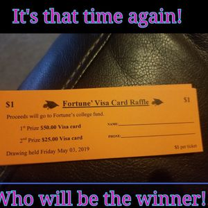 Educational Raffle Tickets for Sale in Charlotte, NC