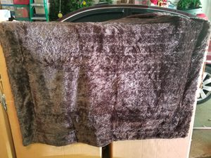 Fur Throw Blanket for Sale in Greensburg, PA