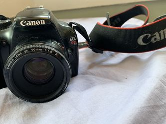 Canon Rebel T3 Body And 50mm F/1.8 Lens for Sale in Brooklyn,  NY