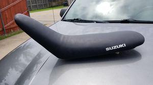 Original Suzuki motorcycle dirtbike seat for Sale in Allen, TX
